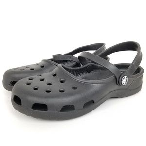 Crocs | mary janes | karin | black